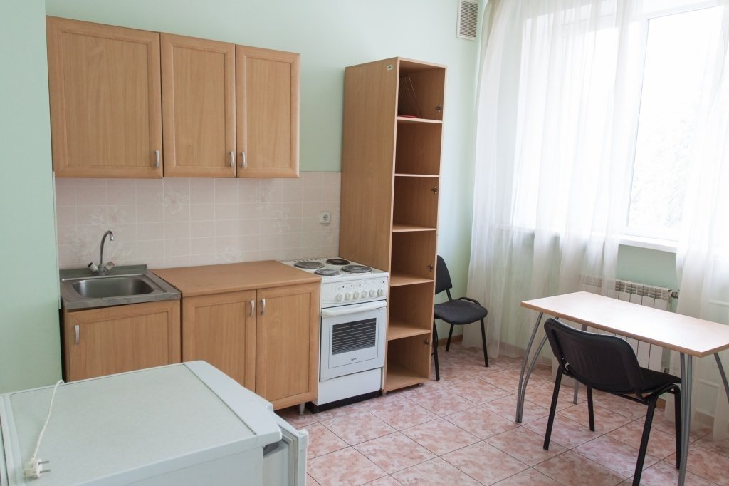 Hostel kitchen # 3